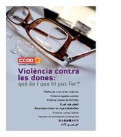 `Violència contra les dones. Què i és i què puc fet?