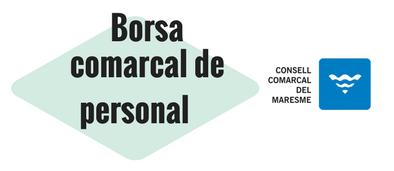 borsa comarcal de personal