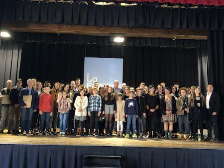 guanyadores i guanyadors de la Mostra Literària del Maresme 2018